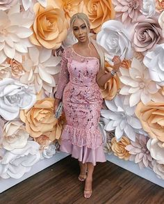 Latest Aso Ebi Styles 100 Different styles of Beautiful and stunning Aso E… - African Styles for Ladies Aso Ebi Lace Styles, African Lace Styles, Ankara Dress Styles, Lace Dress Styles, African Lace Dresses, Latest African Fashion Dresses, Nigerian Lace Styles Dress, Ankara Fashion, Latest Fashion