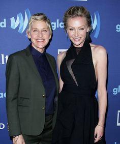 Ellen DeGeneres shared the cutest picture for Portia Di Rossi's birthday