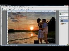 Layering a texture over a photo