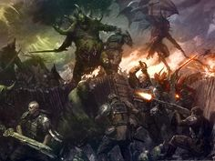 chaos Daemons | ... that has long been a sore spot for chaos daemons players the previous