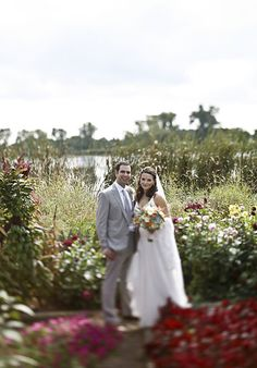 Bonnie and Michael married at the bride's family's lake house. Click thru to see more! Doug McGoldrick Photography
