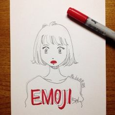 hehh?!   #mekaworks #drawing #emoji