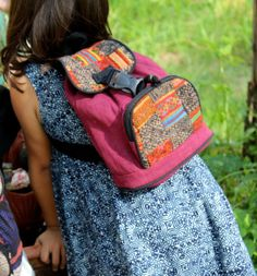 Little Girls Hmong Backpack Embroidery And by SiameseDreamDesign, $34.00