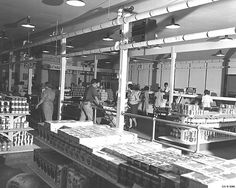 The grocery (Grovery). store. Photo courtesy of LANL archive.