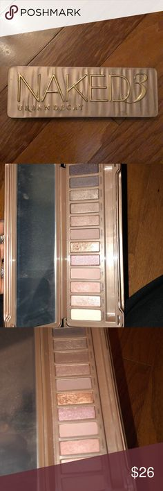 Urban decay naked pallet 3 Never used brand new condition Urban Decay Makeup Eyeshadow