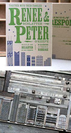 Letterpress: imprimir como en el 1.900. Starshaped Press Studio