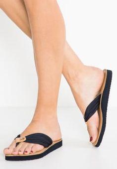 Tommy Hilfiger - MONICA - T-bar sandals - dark blue