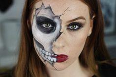 Skeleton Makeup Ideas for Halloween - 35