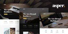Asper - Responsive Multipurpose Adobe Muse Theme - Creative Muse Templates