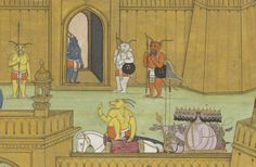 Indian Epics: Images and PDE Epics: Image: Lanka