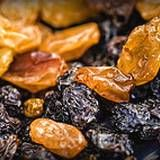 Arthritis Relief Home Remedy - raisins soaked in apple cider vinegar for 24 hours. Eat 9 a day.