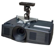 Projector Ceiling Mount for Canon LV-7290 LV-7295 LV-7390 8225 LV-8227A LV-8227M, Silver