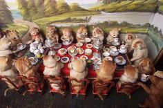 Walter Potter's Kitten Tea Party