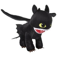 Soft  cuddly, the Toothless pillow will quickly become your child's fav.