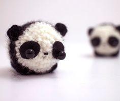 #animais #miniatura #crochê #panda