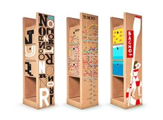 Cardboard an amazing piece of self standing furniture all made of microtriple thick paperboard totally recyclable and ideal for fostering your business. Green News, Sustainable Furniture, Cardboard Packaging, Retail Merchandising, Cardboard Furniture, Stand Design, Package Design, Recycling, Toys