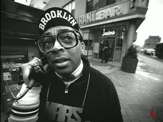 Spike Lee, a famous movie director that has shine light on Brooklyn in his films that deal with race issues, poverty, etc.