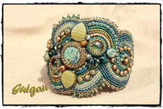 Bracelet Aqua Terra (Ann Benson)