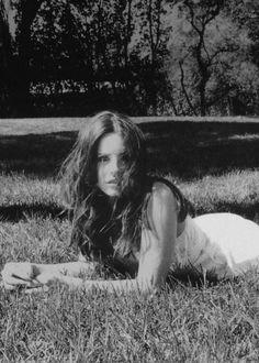 "Lana Del Rey ""Ultraviolet White"" Photograph by Neil Krug - edited B&W"