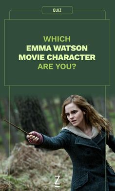 Which Emma Watson Movie Character Are You?