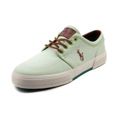 9a7c567800b47 Shop for Mens Faxon Casual Shoe by Polo Ralph Lauren in Light Green at  Journeys Shoes.