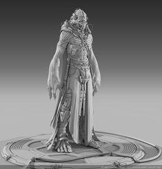 ArtStation - Alien Scientist, Ben Erdt