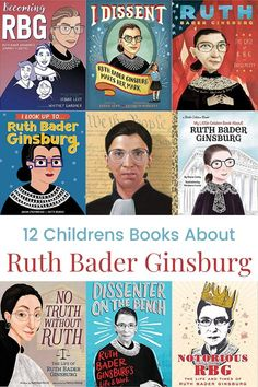 12 Children's Books About Ruth Bader Ginsburg – Feminist Books for Kids Kindergarten Books, Preschool Books, Funny Books For Kids, Great Books, Read Aloud Books, Children's Books, Third Grade Books, Feminist Books, Emotional Child