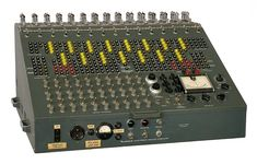 Heathkit, known for it's construction kits, developed an analog computer in 1956 that was primary designed for education. This monster has 70 tubes, whereas 45 were placed external due to better cooling. It is equipped with 15 computing amplifiers.