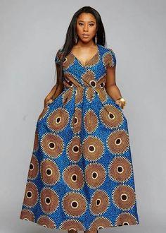 African maxi dress with pockets, African print dress,African clothing for women,Ankara dress,african Long African Dresses, Ankara Long Gown Styles, Latest African Fashion Dresses, African Print Dresses, African Print Fashion, Africa Fashion, Ankara Styles, African Traditional Dresses, African Attire