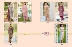 COSMOS-AAYRA-VOL-17-SALWAR-SUITS-SUPPLIER-SURAT-3 Latest Pakistani Suits, Salwar Suits, Cosmos, Harem Pants, Kimono Top, Luxury, Women, Fashion, Moda