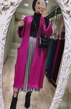 Short Girl Fashion, Modest Fashion, Fashion Outfits, Womens Fashion, Mode Abaya, Mode Hijab, Dubai Fashion, Muslim Fashion, Skirt Outfits