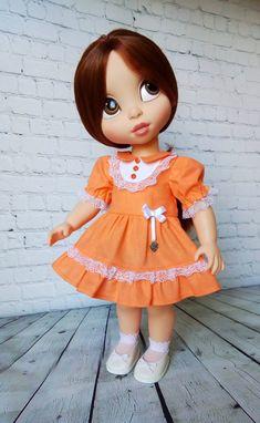 Disney Animator Doll, Pretty Dolls, Harajuku, 1, Patterns, Disney Princess, Sewing, Disney Characters, Clothes