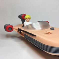 Printable Landspeeder by Aitor Baltziskueta Models Needed, 3d Printing, Have Fun, Printables, Toys, Impression 3d, Activity Toys, Print Templates, Clearance Toys