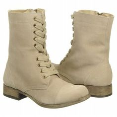 MIA Women's Lacee $74.00 - I want a style with zippers those laces look awesome but I don't want to deal with it. Cute Boots For Women, Winter Shoes, Zippers, Combat Boots, Footwear, Wedges, Awesome, Lace, Style