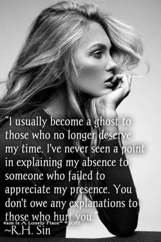 Strength Quotes : I disappear.