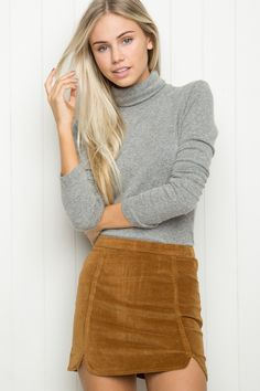 Brandy ♥ Melville | Raquel Skirt - Skirts - Bottoms - Clothing     Pinterest & Tumblr: aloraphernelia                                                                                                                                                                                 More