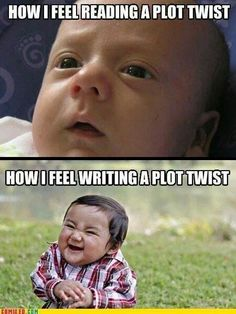 How I'm pretty sure this is how Chanda Hahn has felt writing this series <<< and how I feel as well when I'm writing my novel XD