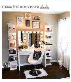 makeup, vanity, and home image
