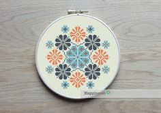 Modern & contemporary cross stitch patterns by Happinesst on Etsy Cross Stitch Geometric, Modern Cross Stitch Patterns, Cross Stitch Designs, Cross Stitching, Cross Stitch Embroidery, Embroidery Patterns, Diy Broderie, Budget Planer, Le Point