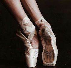 ballet, dance, and dark image