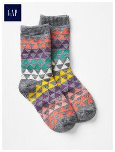 Cozy printed socks