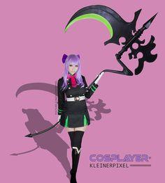Shinoa Cosplay from Anime Seraph of the Ende / Owari no Seraph