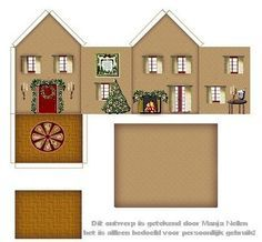 papercraft buildings templates - Google Search