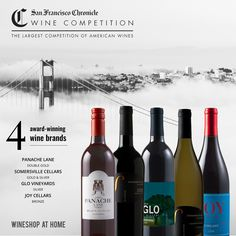 Our #wines just won big at the 2017 San Francisco Chronicle Wine Competition, the largest competition of American wines in the world! #awardwinningwine