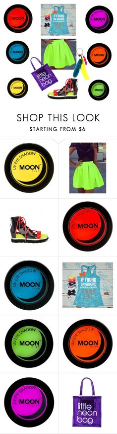 """""""Neon and moon"""" by lidiar8r ❤ liked on Polyvore featuring Marques'Almeida, neon and moon"""