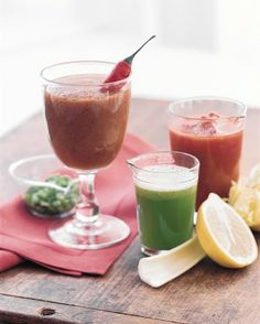 Spicy Tomato Juice and more on MarthaStewart.com