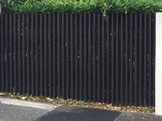 Inexpensive Black Fence Ideas For Garden Design - Zaun Ideen