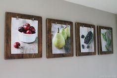 DIY: Photo Clipboards