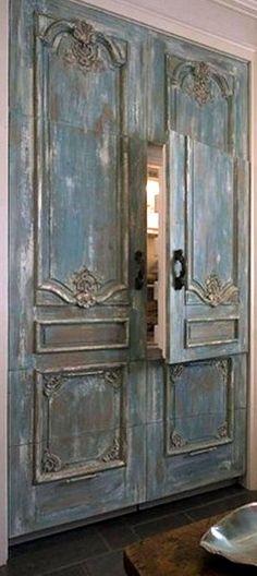 french inspired refrigerator