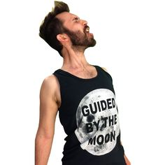 Unisex Guided by the Moon Tank - S/M/L/XL/XXL - Choose Your Size by TROPICULT on Etsy